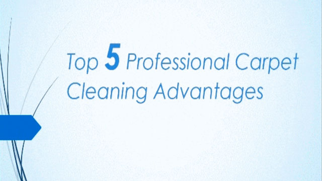 Top 5 Rofessional Carpet Cleaning Advantages