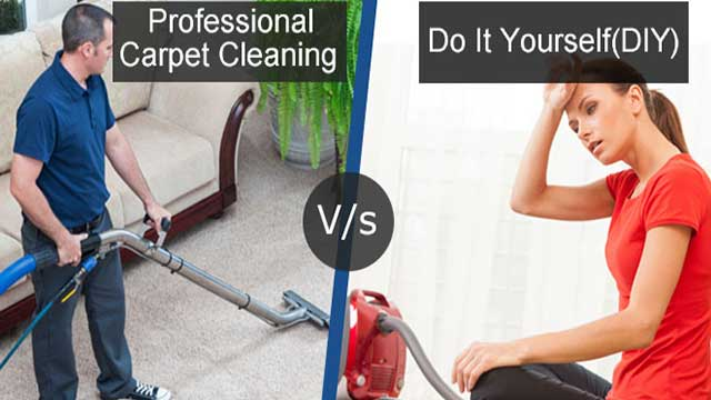 Professional Carpet Cleaning V/s Do It Yourself (DIY)